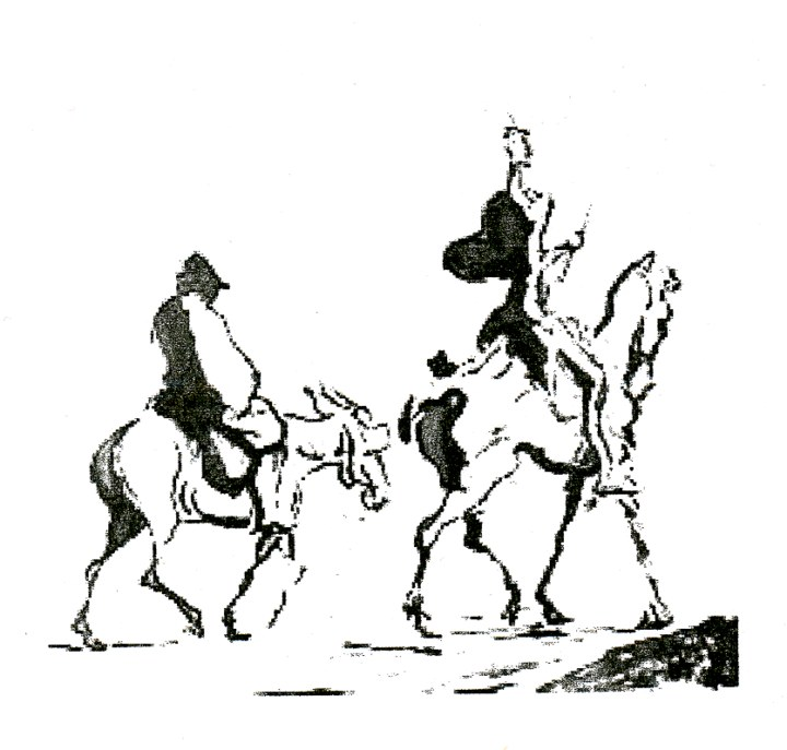 Honoré Daumier, Don Quichote.