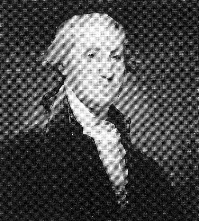 George Washington (von G. Stuart), New York, Metropolitan Museum.